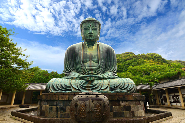 big Buddha statue in japan